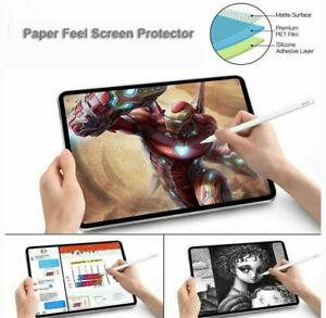 Write Like Paper Screen Protector for Apple iPad Pro 11 12.9/9.7 10.2 Inch