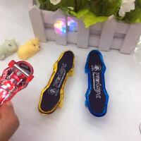 Mini LED Lampe Fingerboard Griffbrett Finger Skateboard Kinder Spielzeug Geschen