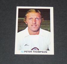 72 PETER THOMPSON BOLTON WANDERERS FKS SOCCER STARS 1977-78 ENGLAND PANINI