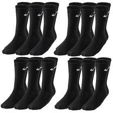12 Paar NIKE Socken Value Crew schwarz 34-50 12er Pack Sportsocken Vorteilspack