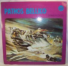 PATHOS BELLICO Italian Soundtrack LP Original Gemelli GG-ST 10016