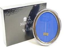 "VINTAGE Mappin & Webb piatto d'argento - FOTO / CORNICE - 5 1/2 ""x 4"""