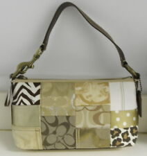 Coach Khaki Patchwork Demi Bag New With Tags !!!*