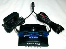 CONVERTED COMFORTABLE TV EARS WIRELESS EARBUD SYSTEM 2.3 MHz