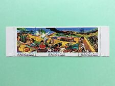 TIMBRE Stamp LIBYE 1986 Socialist People s Libyen Arab