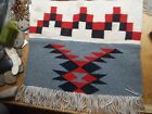 "Native American Navajo Wool Textile WEAVING 20"" X 20"""