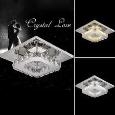 12W LED Deckenleuchte Kristall Decken Lampe Leuchte Wohn Zimmer Flur Beleuchtung