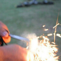 1set Magnesium Block Fire Starter Flint Outdoor Camping Hiking Survival ToolsGR