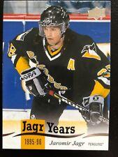 18-19 UD Series 1 Jagr Years 1995-96 #JJ-6 Jaromir Jagr