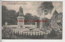 (81599) AK Kirchberg i.Sa., Lutherdenkmal, 1934