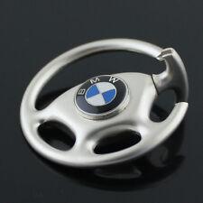 New Car Logo Metal Steering Wheel Key Ring Keychain for BMW