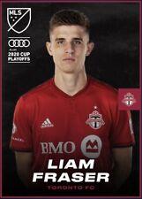 [DIGITAL CARD] Topps Kick - Liam Fraser - MLS 2020 Playoffs - Team Color