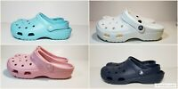 Crocs  Coast clog color petal pink  and white NWT women's size 7,8,9 ,10,11