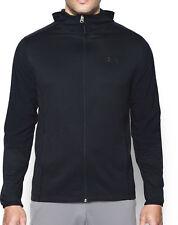 Under Armour ColdGear Infrared Grid Full Zip Hoodie Mens Hooded Jacket 1281321 Black L Black-black 1281321-001