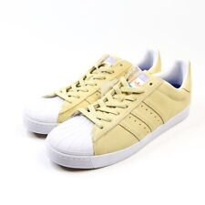 Adidas Superstar Vulc ADV Men's Casual Shoes Pastel Yellow CG4838 Size 11 US