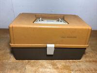 Vintage Plano 5030 1970'S PLASTIC FISHING TACKLE BOX