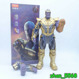AVENGERS THANOS CRAZY TOYS 1/6TH SCALE COLLECTIBLE PVC FIGURE STATUE NEW IN BOX