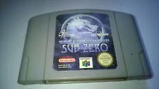 Mortal Kombat Mythologies Sub-Zero [Loose] Nintendo 64