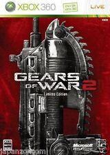 Used Xbox 360 Gears of War 2  MICROSOFT JAPAN JP JAPANESE JAPONAIS IMPORT