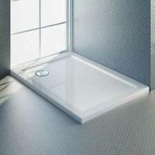 Piatto doccia slim rettangolare abs rinforzato h 4 cm bianco lucido varie misure