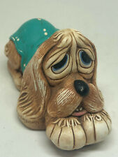 Pooch Pendelfin Hound Dog Figurine Vintage Burnley England Spaniel Terrier
