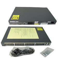 Cisco Catalyst WS-C3750V2-48PS-S 48-Port PoE + 4-Port Gigabit Ethernet Switch