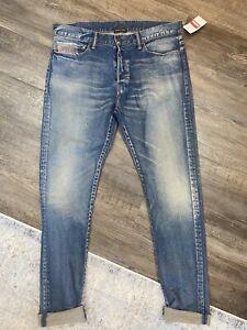 John Elliott -The Cast 2 Hover Jeans Japanese Denim Mens Size 34 NEW