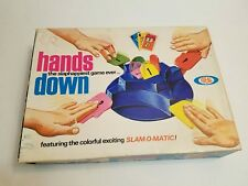 VINTAGE 1960's HANDS DOWN GAME BY IDEAL COMPLETE WITH BOX