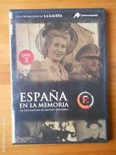 DVD ESPAÑA EN LA MEMORIA 3 - LA POSGUERRA - CAJA SLIM (R4)