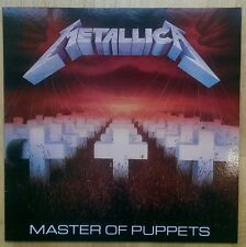 Metallica Master Of Puppets LP. Brand New. Never Played.