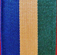AUSTRALIAN ARMY NAVY AIR FORCE OPERATIONAL SERVICE MEDAL RIBBON BORDER PROTECT