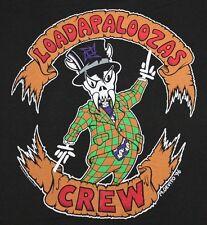 XXL * NOS vtg 90s 1996 METALLICA Crew LOLLAPALOOZA tour t shirt *  40.141