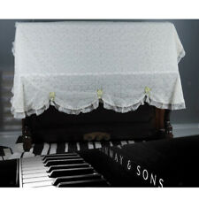 Dustproof Upright Piano Cover Piano Dust Cover Lace Dust Cover Piano Cloth