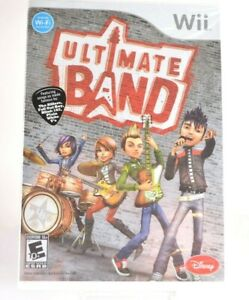 Ultimate Band  Nintendo Wii Video Game  Brand New Sealed Free Shipping