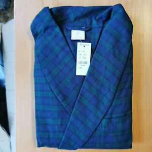 Brooks Brothers Men's Large All Cotton Traditional Fit Bath Robe