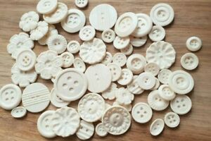 50 Edible Sugar Buttons,  Cake Decorations Cupcake Topper