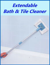 Bath Shower & Tile Cleaner - Extendable Handle - Plus Replacement Pads - WENKO