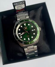 SRPB93J1 Automatic Emerald Green Dial Silver Steel Watch Made in Japan