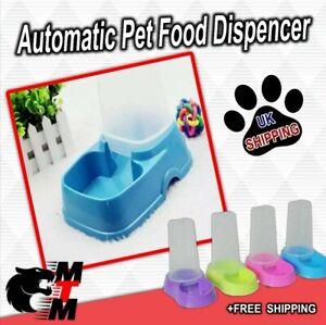 Automatic Pet Dog Cat Rabbit Food, Dispenser Dish Bowl Feeder 2 colours