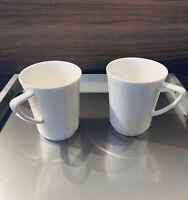 Tassen weiß neu 6 Stück im Karton. NEU OVP Airline Qualität Porzellan