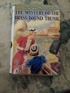 Nancy Drew The Mystery Of The Brass Bound Trunk Applewood 1st Printing