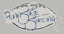 """Penn State Nittany Lions RARE Graphic Decal Sticker PENN STATE STRONG 4"""" X 7"""""""