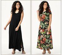 Attitudes by Renee Como Jersey Set of 2 Maxi Dresses (Multi, MP)