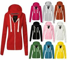 Hooded Plain Petite Hoodies & Sweats for Women