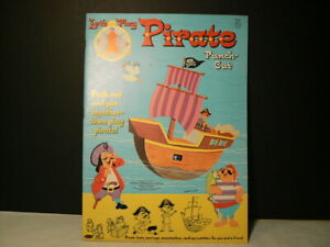 """VTG Paper Dolls """"Let's Play Pirate – Punch Out"""", 1964, W:1946"""