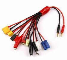 10 in 1 RC Lipo Battery Multi Charger Plug Adapter Converter Charging Cable