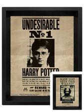 Harry Potter Poster Potter/Sirius 3D Framed Lenticular 20x25cm