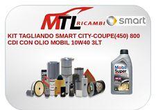 KIT TAGLIANDO SMART CITY-COUPE(450) 800 CDI CON OLIO MOBIL 10W40 3LT