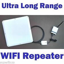 2 MILE Range! Long Range WIFI Repeater Extender Router For Smartphone Tablet