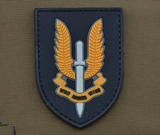 """PVC / Rubber Patch """"22 SAS Who Dares Wins"""" with VELCRO® brand hook"""